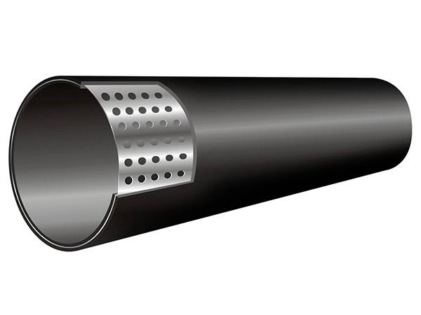 孔网钢带复合管